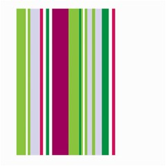 Beautiful Multi Colored Bright Stripes Pattern Wallpaper Background Large Garden Flag (Two Sides)
