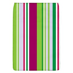 Beautiful Multi Colored Bright Stripes Pattern Wallpaper Background Flap Covers (l)