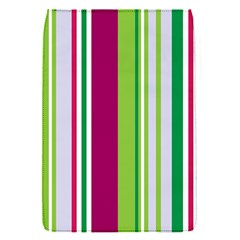 Beautiful Multi Colored Bright Stripes Pattern Wallpaper Background Flap Covers (s)