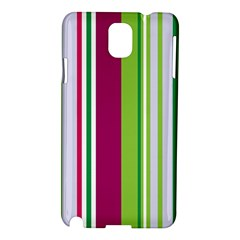 Beautiful Multi Colored Bright Stripes Pattern Wallpaper Background Samsung Galaxy Note 3 N9005 Hardshell Case