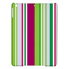 Beautiful Multi Colored Bright Stripes Pattern Wallpaper Background Ipad Air Hardshell Cases