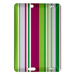 Beautiful Multi Colored Bright Stripes Pattern Wallpaper Background Amazon Kindle Fire HD (2013) Hardshell Case