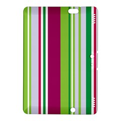 Beautiful Multi Colored Bright Stripes Pattern Wallpaper Background Kindle Fire Hdx 8 9  Hardshell Case