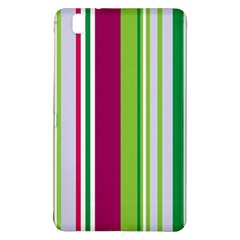 Beautiful Multi Colored Bright Stripes Pattern Wallpaper Background Samsung Galaxy Tab Pro 8 4 Hardshell Case