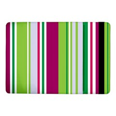 Beautiful Multi Colored Bright Stripes Pattern Wallpaper Background Samsung Galaxy Tab Pro 10 1  Flip Case