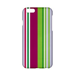 Beautiful Multi Colored Bright Stripes Pattern Wallpaper Background Apple Iphone 6/6s Hardshell Case
