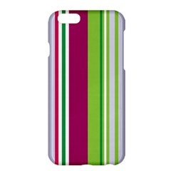 Beautiful Multi Colored Bright Stripes Pattern Wallpaper Background Apple iPhone 6 Plus/6S Plus Hardshell Case