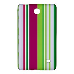 Beautiful Multi Colored Bright Stripes Pattern Wallpaper Background Samsung Galaxy Tab 4 (8 ) Hardshell Case