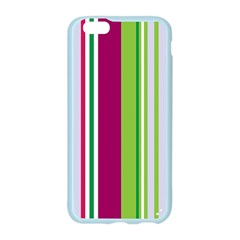 Beautiful Multi Colored Bright Stripes Pattern Wallpaper Background Apple Seamless iPhone 6/6S Case (Color)