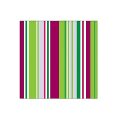 Beautiful Multi Colored Bright Stripes Pattern Wallpaper Background Satin Bandana Scarf