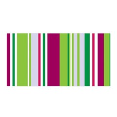 Beautiful Multi Colored Bright Stripes Pattern Wallpaper Background Satin Wrap