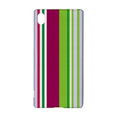 Beautiful Multi Colored Bright Stripes Pattern Wallpaper Background Sony Xperia Z3+