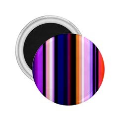 Fun Striped Background Design Pattern 2 25  Magnets