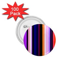 Fun Striped Background Design Pattern 1.75  Buttons (100 pack)