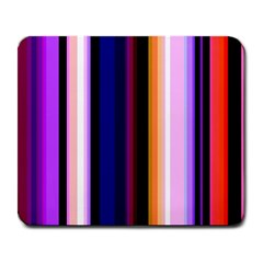 Fun Striped Background Design Pattern Large Mousepads