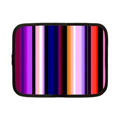 Fun Striped Background Design Pattern Netbook Case (small)