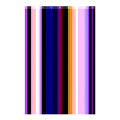 Fun Striped Background Design Pattern Shower Curtain 48  X 72  (small)