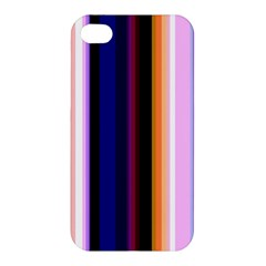 Fun Striped Background Design Pattern Apple Iphone 4/4s Hardshell Case