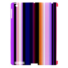 Fun Striped Background Design Pattern Apple Ipad 3/4 Hardshell Case (compatible With Smart Cover)