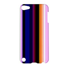 Fun Striped Background Design Pattern Apple iPod Touch 5 Hardshell Case