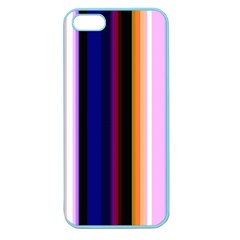 Fun Striped Background Design Pattern Apple Seamless Iphone 5 Case (color)