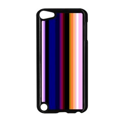 Fun Striped Background Design Pattern Apple Ipod Touch 5 Case (black)