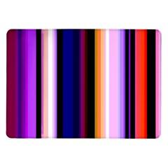 Fun Striped Background Design Pattern Samsung Galaxy Tab 10.1  P7500 Flip Case