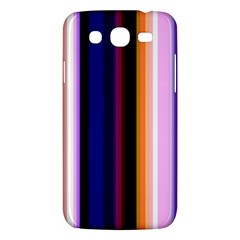 Fun Striped Background Design Pattern Samsung Galaxy Mega 5.8 I9152 Hardshell Case