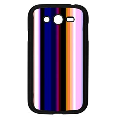 Fun Striped Background Design Pattern Samsung Galaxy Grand Duos I9082 Case (black)