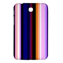 Fun Striped Background Design Pattern Samsung Galaxy Tab 3 (7 ) P3200 Hardshell Case