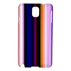 Fun Striped Background Design Pattern Samsung Galaxy Note 3 N9005 Hardshell Case