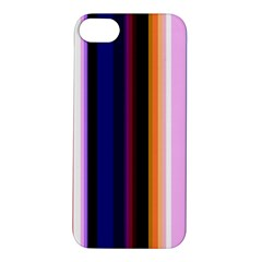 Fun Striped Background Design Pattern Apple Iphone 5s/ Se Hardshell Case