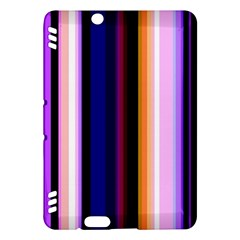 Fun Striped Background Design Pattern Kindle Fire HDX Hardshell Case