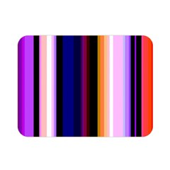 Fun Striped Background Design Pattern Double Sided Flano Blanket (Mini)