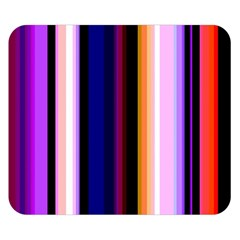 Fun Striped Background Design Pattern Double Sided Flano Blanket (small)