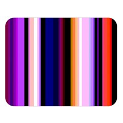 Fun Striped Background Design Pattern Double Sided Flano Blanket (large)