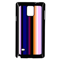 Fun Striped Background Design Pattern Samsung Galaxy Note 4 Case (black)