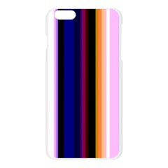 Fun Striped Background Design Pattern Apple Seamless iPhone 6 Plus/6S Plus Case (Transparent)
