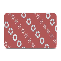 Abstract Pattern Background Wallpaper In Pastel Shapes Plate Mats