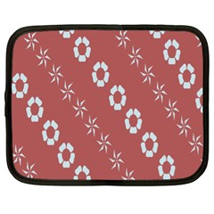 Abstract Pattern Background Wallpaper In Pastel Shapes Netbook Case (xl)