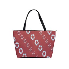 Abstract Pattern Background Wallpaper In Pastel Shapes Shoulder Handbags