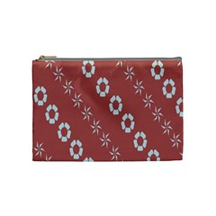 Abstract Pattern Background Wallpaper In Pastel Shapes Cosmetic Bag (medium)