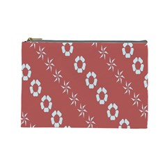 Abstract Pattern Background Wallpaper In Pastel Shapes Cosmetic Bag (large)