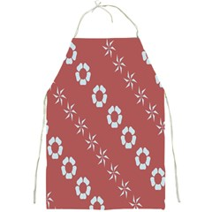 Abstract Pattern Background Wallpaper In Pastel Shapes Full Print Aprons