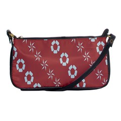 Abstract Pattern Background Wallpaper In Pastel Shapes Shoulder Clutch Bags