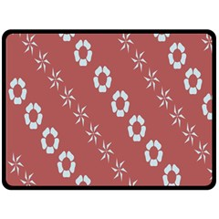Abstract Pattern Background Wallpaper In Pastel Shapes Fleece Blanket (Large)