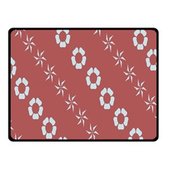 Abstract Pattern Background Wallpaper In Pastel Shapes Fleece Blanket (small)