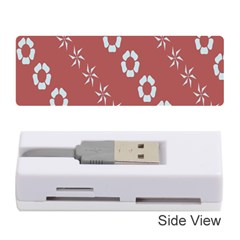 Abstract Pattern Background Wallpaper In Pastel Shapes Memory Card Reader (stick)