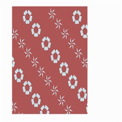 Abstract Pattern Background Wallpaper In Pastel Shapes Large Garden Flag (two Sides)