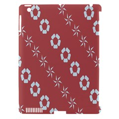 Abstract Pattern Background Wallpaper In Pastel Shapes Apple iPad 3/4 Hardshell Case (Compatible with Smart Cover)